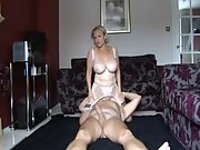 I kick and pulverize her gash till she cums